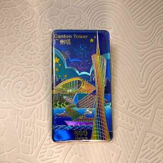 Canton Tower Limited Edition Gold Bar Collectible