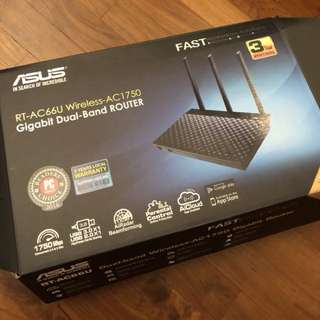 Asus Router RT ac66u wireless ac 1750 wifi