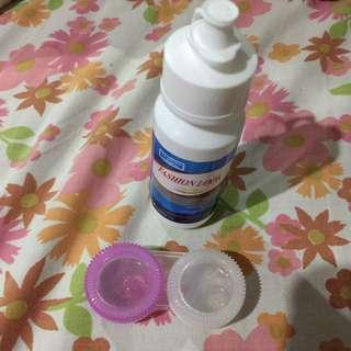 Love Fairy Gray Sparkle Contact Lens