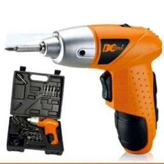 Portable Electric Drill Cordless Screw Driver 45pcs Tools