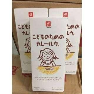 🚚 日本 CANYON 兒童咖哩塊