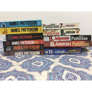 Novel - James Patterson - Women's Murder Club Series