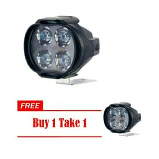 12W 12V 4Led Headlight HeadLamp Bulb FogLight For motorcycle