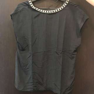 Tops zara size xs fit to m