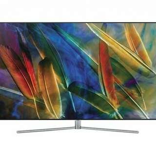"""Samsung QA55Q7FAMJXZK  55"""" QLED 4K Flat Smart TV Q7F 電器堡🏰平過大型電器鋪*限時優惠*全新行貨"""