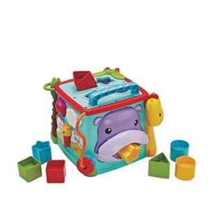 Fisher Price Shape Sorter/activity cube