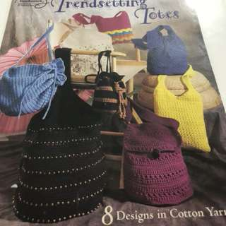 Crochet fashionable bags. Bot never used. Delivery by mail
