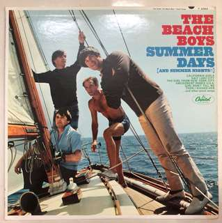 Artist: Beach Boys; Title: Summer Days (and Summer Nights!!); 12 inches LP; 12 Tracks; Capitol Record; Made in USA