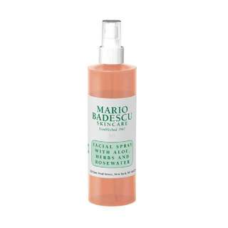 Mario Badescu rosewater facial spray!!! 118ml