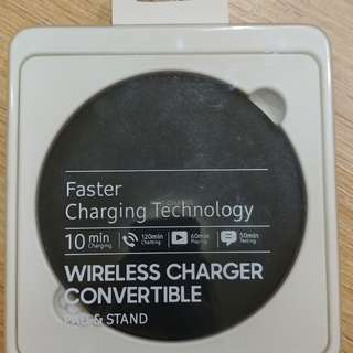 Fast Wireless charger pad and stand