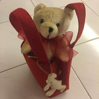 Lovely Lace Memory Bear