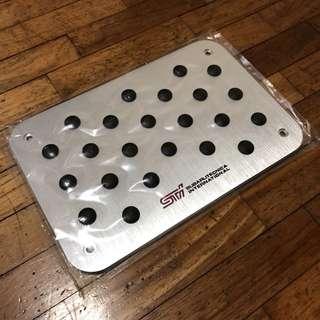 Subaru STI Heel Plate