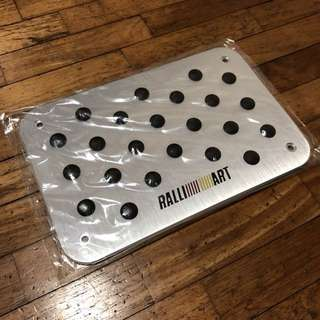 Mitsubishi Ralliart Heel Plate