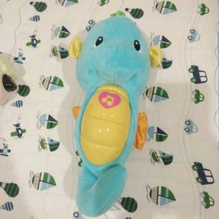 Fisher Price Music light Seahorse toy