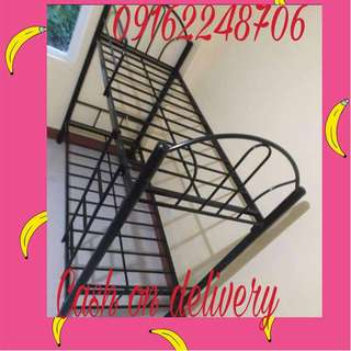 double deck single bed frame