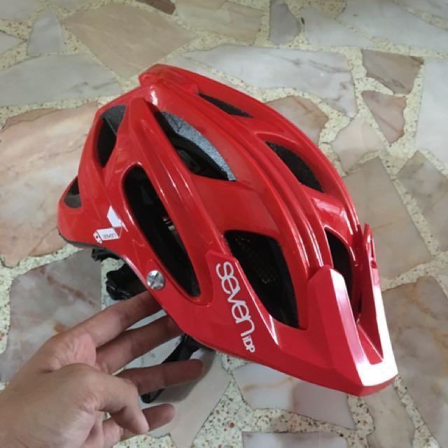 later best authentic sale 7 iDP M4 helmet 2017 used on Carousell