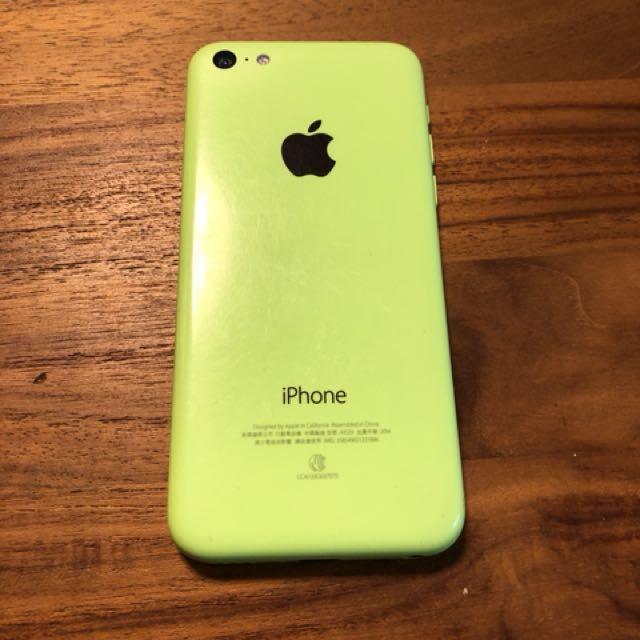 85%new iPhone 5c 蘋果綠 八五成新 附充電線