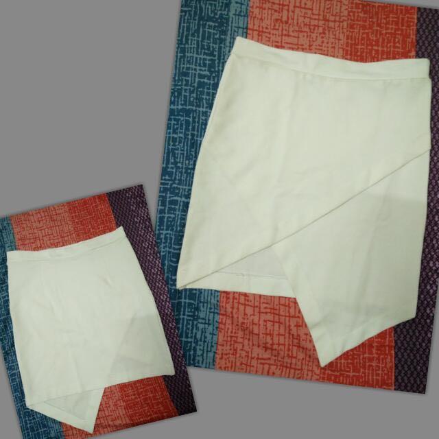 顯瘦交叉包臀裙