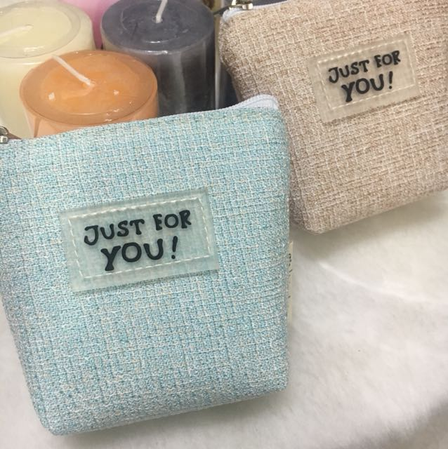 韓版 毛呢零錢包 ❤️兩色現貨 #大掃除五折