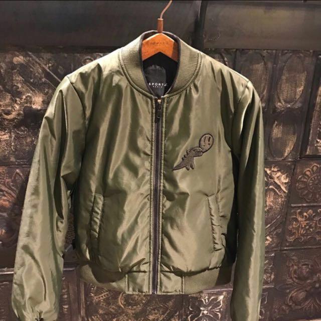 📍出清降📍全新 限量版 正品 sport b. 空軍外套 短外套