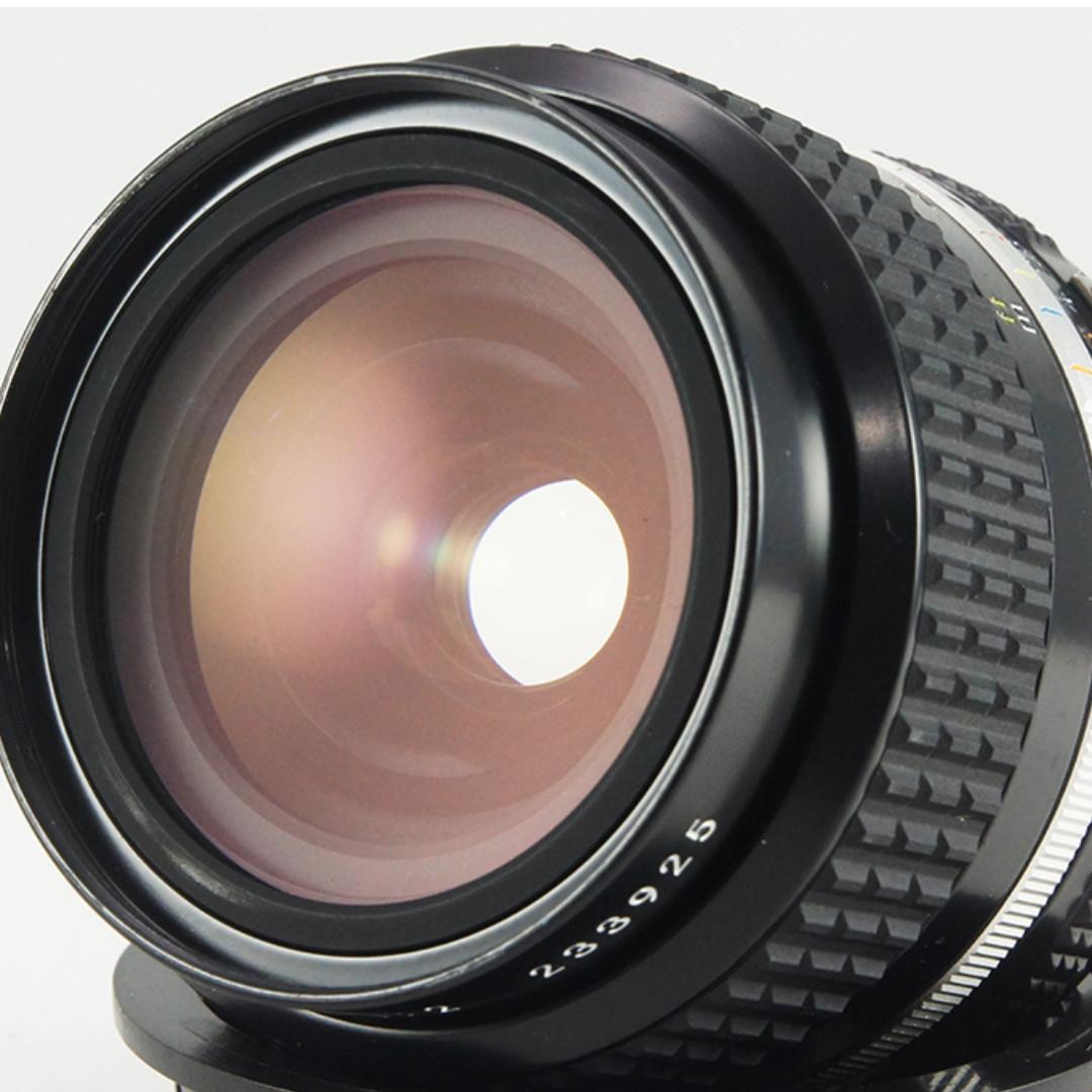 **日光銀鹽** 日鏡 Nikon AIS 24mm F2.0 廣角鏡 #925