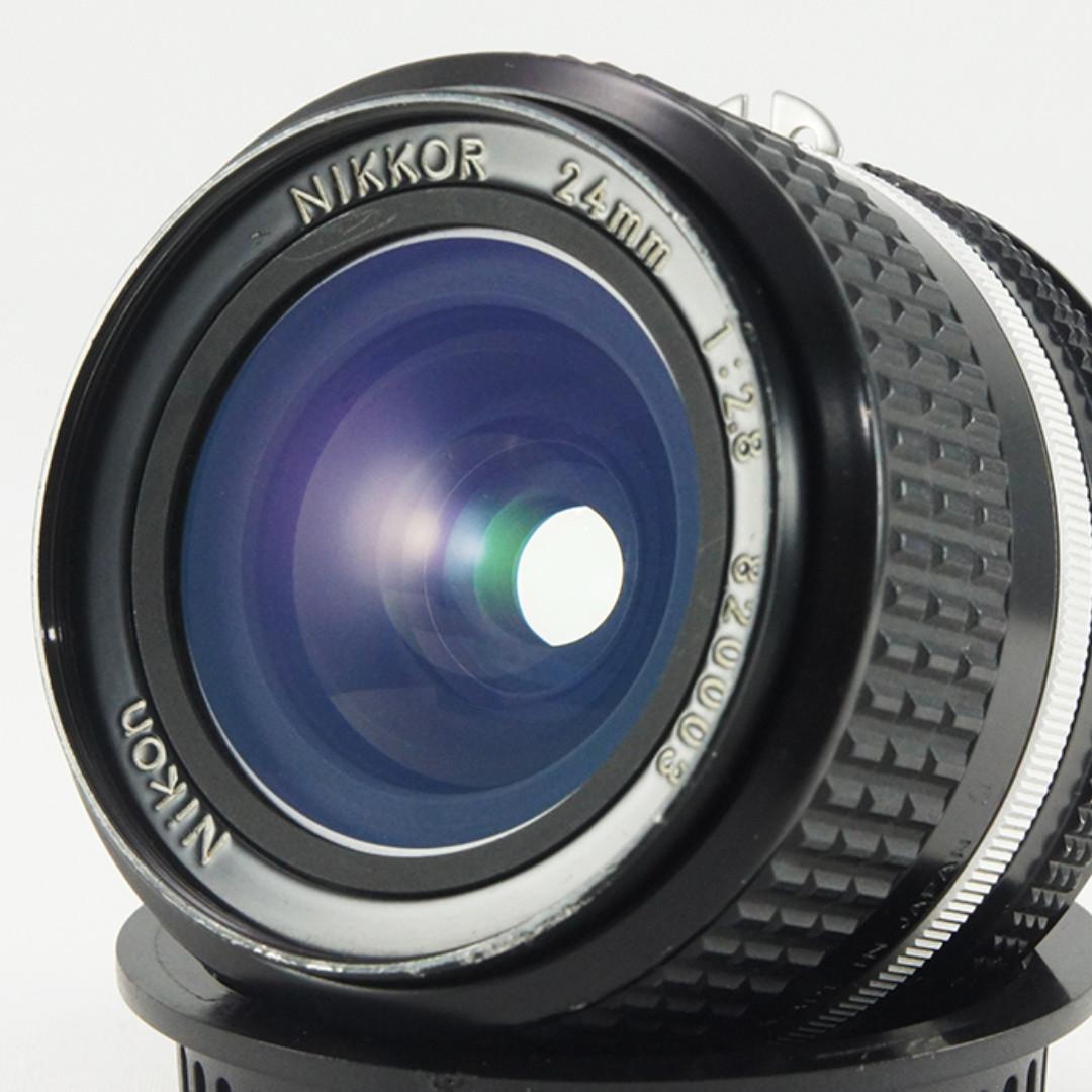 **日光銀鹽** 日鏡 Nikon AIS 24mm F2.8 廣角鏡 #003