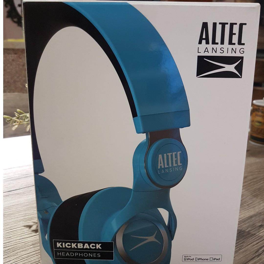 Altec Lansing MZX756 Kickback (Blue)