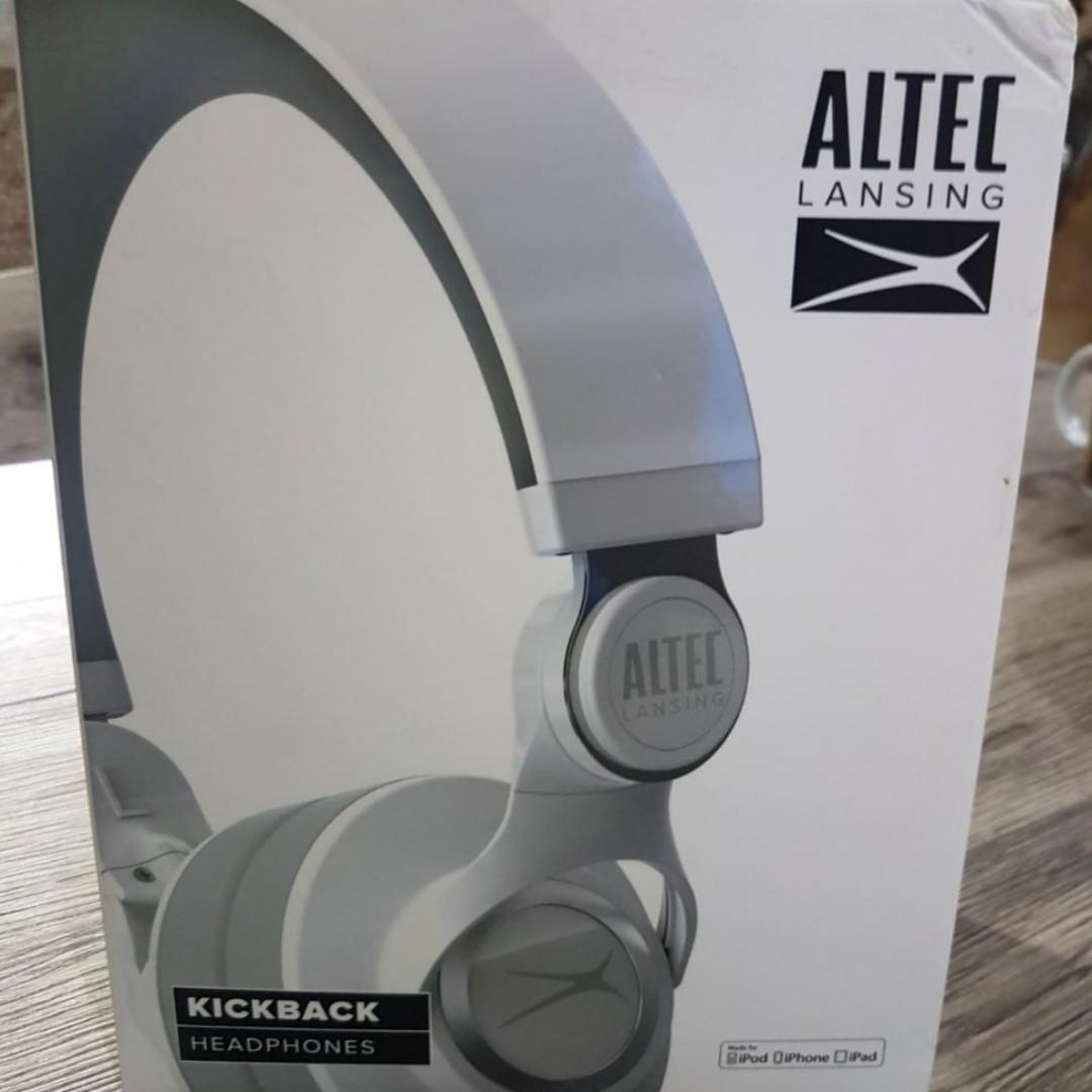 Altec Lansing MZX756 Kickback (White)