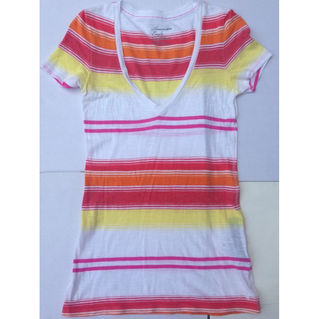 American Eagle Outfitters striped shirt
