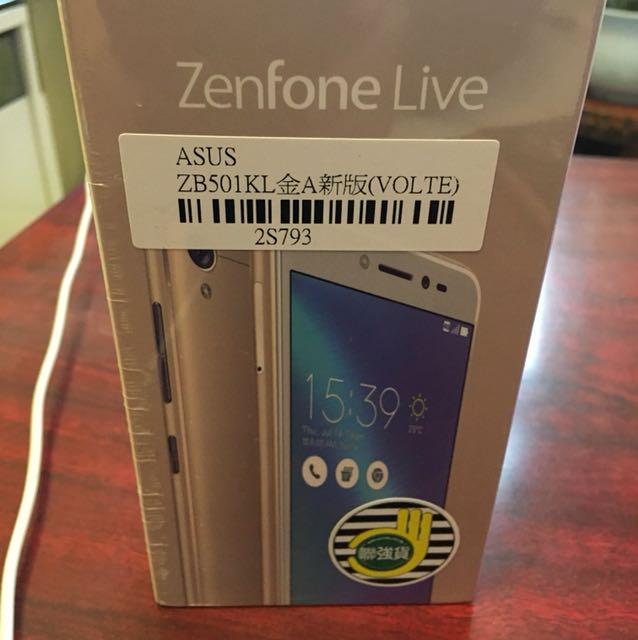 全新未拆封ASUS Zenfone Live 16G聯強貨