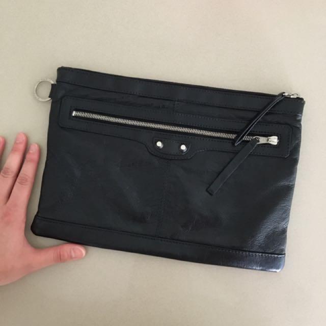 Authentic balenciaga clutch