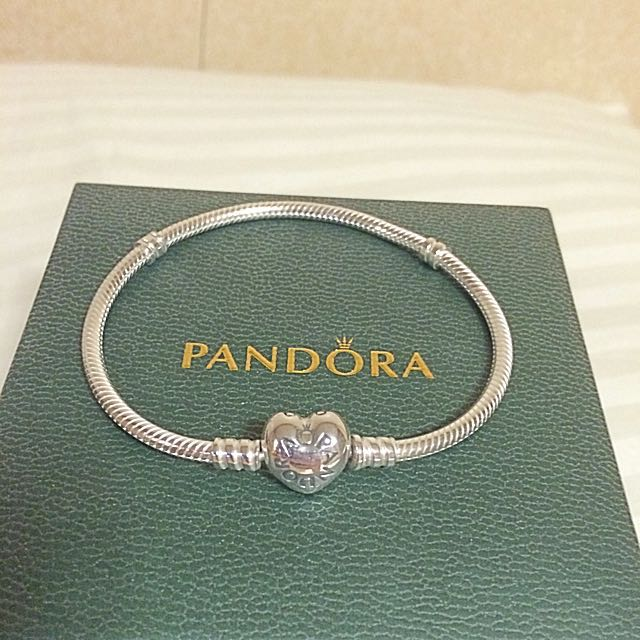 Authentic Pandora Bracelet with Brochure, Bag and Free Shipping