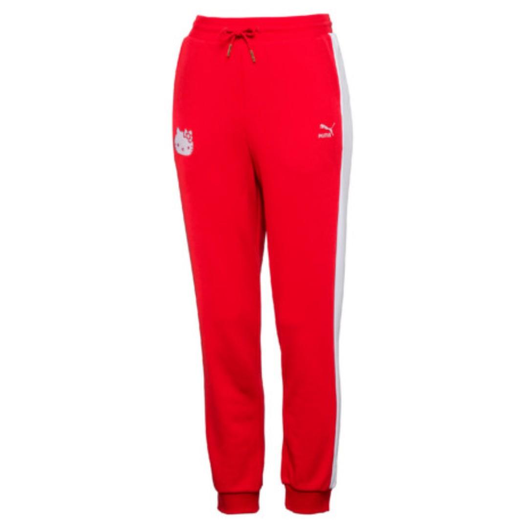 3c678229 Authentic Puma x Hello Kitty Track Pants, Women's Fashion, Clothes ...