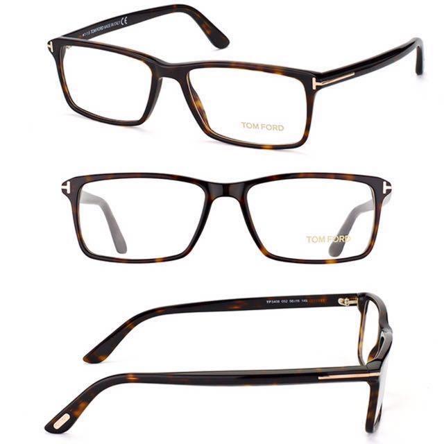 fa1e19849e Authentic Tom Ford Eye Glasses Frame Huat50 Men S Fashion