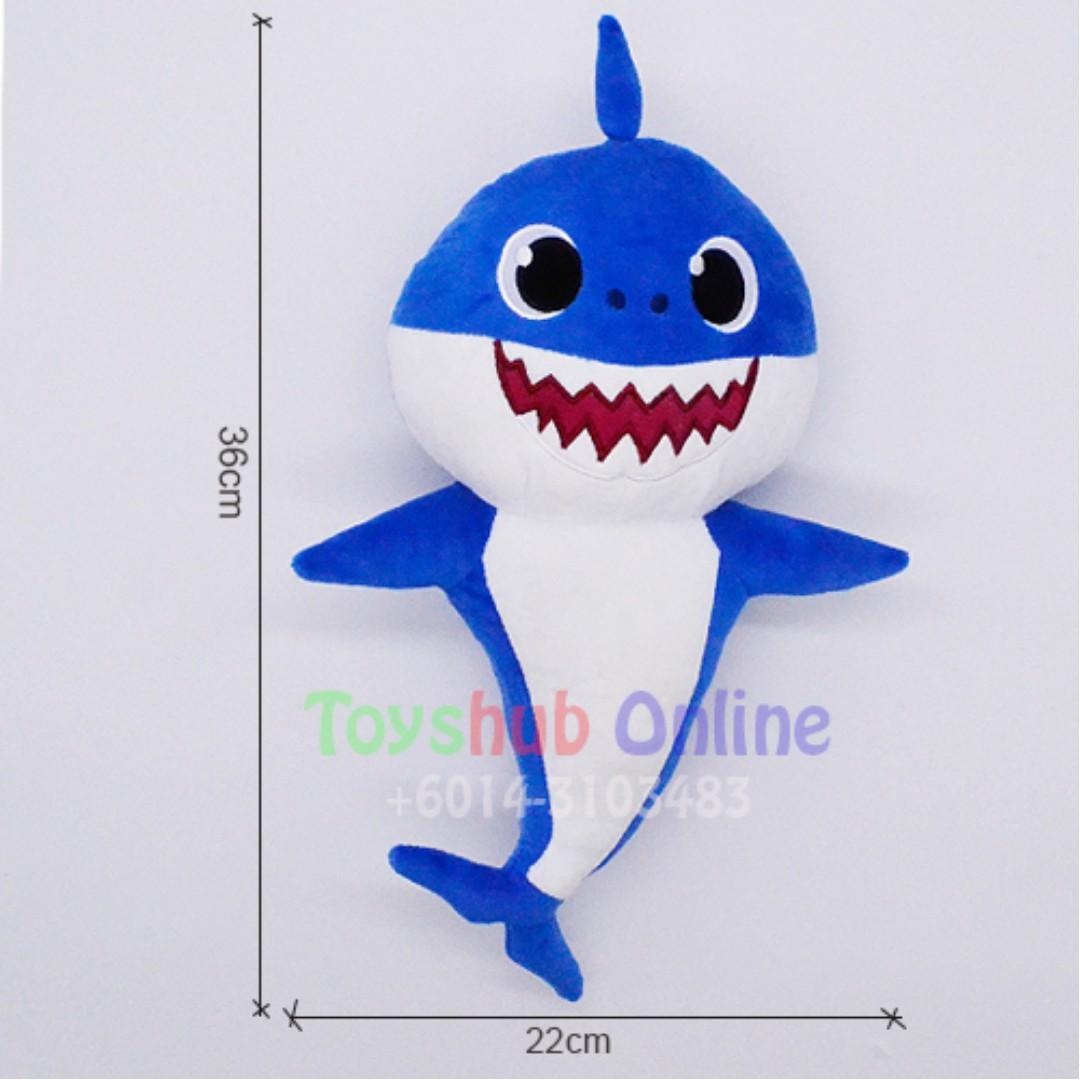 Baby shark toy baby shark plush toy soft toy pink fong baby shark photo photo stopboris Images