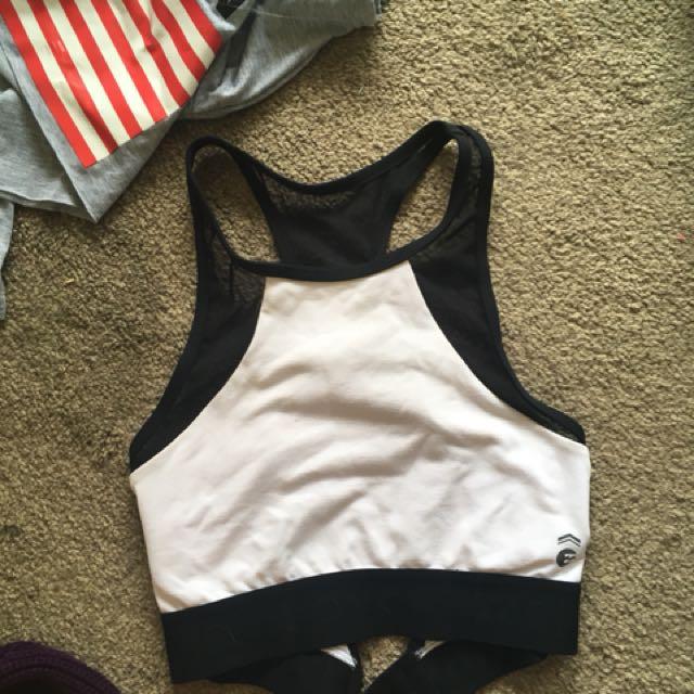 Billabong crop/ sports bra/ bathers