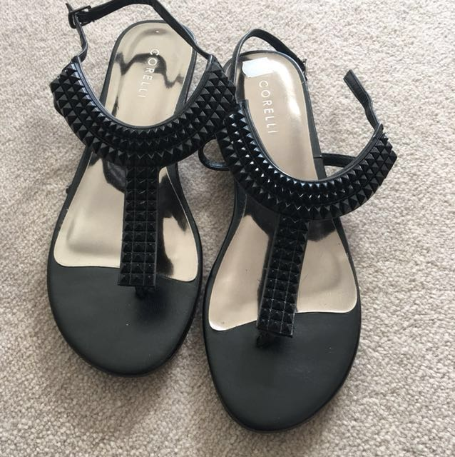 Black sandals size 8 Brand New