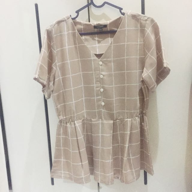 Blouse Hardware Light Brown