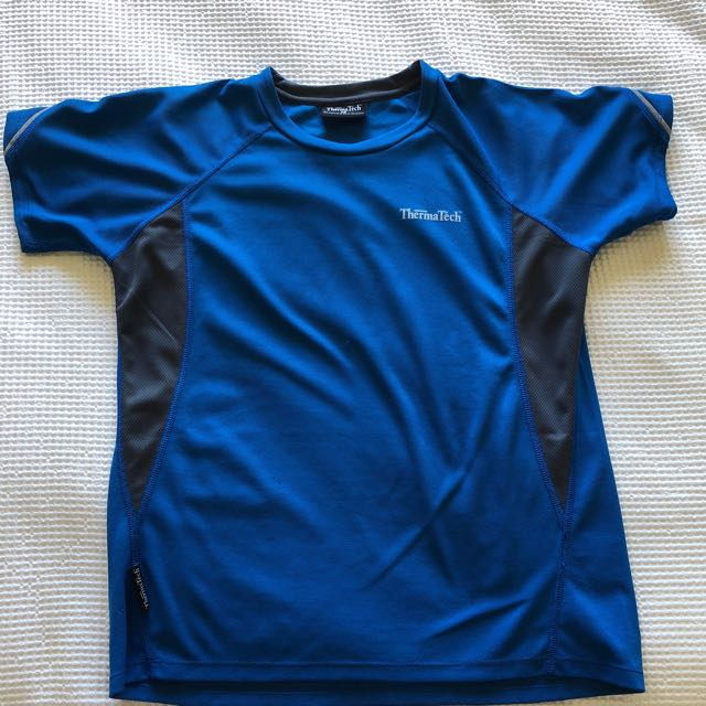 Blue sports top