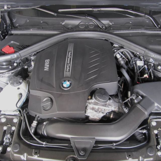 Bmw F30 Engine Bay Car Cover, Car Accessories On Carousell