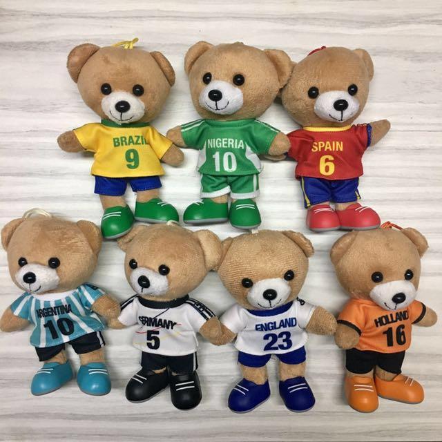 BOLARIO Football Bear Collections