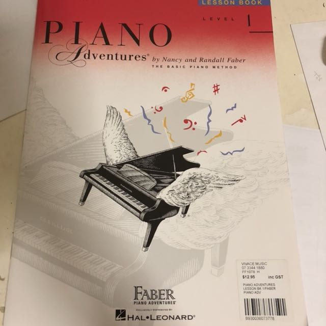 Brand new Faber Piano Adventures Level 1 Lesson Book