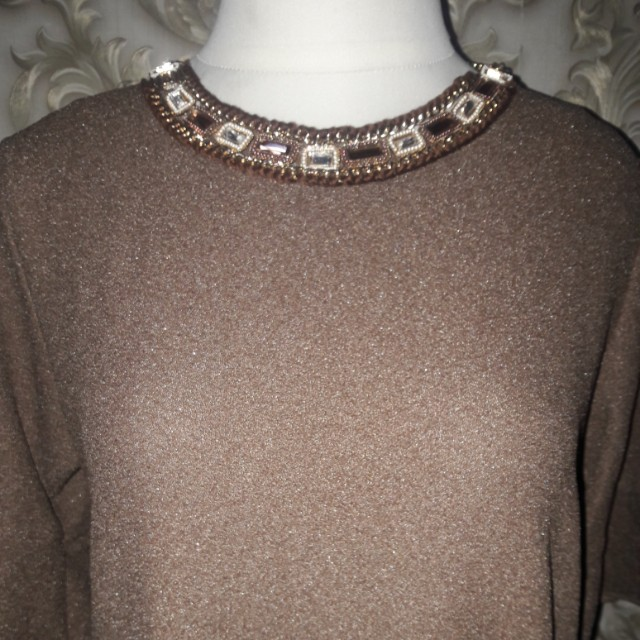 Brown blouse Ld.90