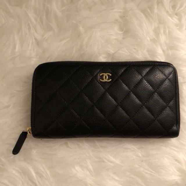 Chanel zip-wallet