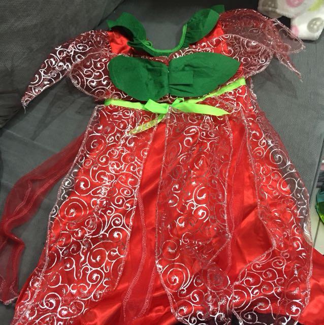 Cherry angel costume unused