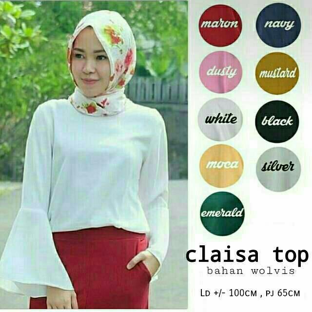 Clasia Top Wanita