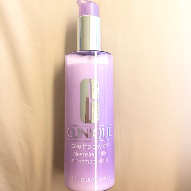 Clinique cleansing milk