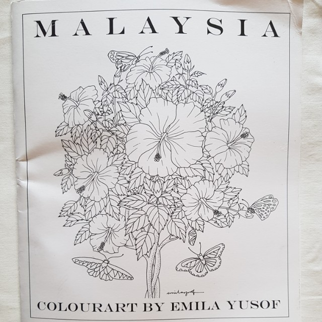 Coloring book by Emila Yusof