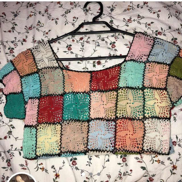 Crochet Tee
