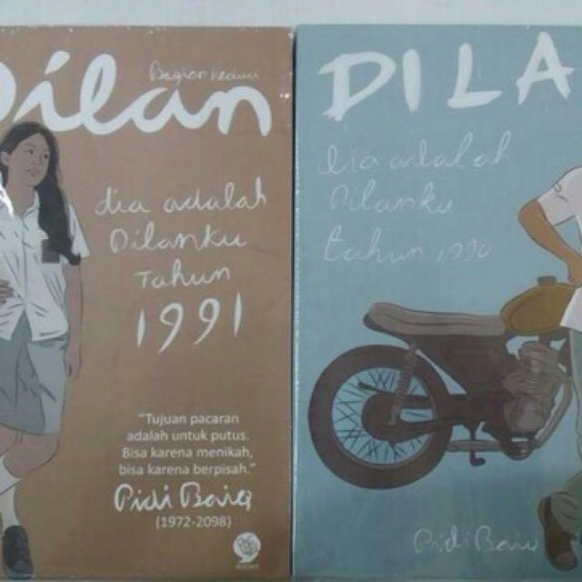 [Disc 20%] 2 Novel Dilan